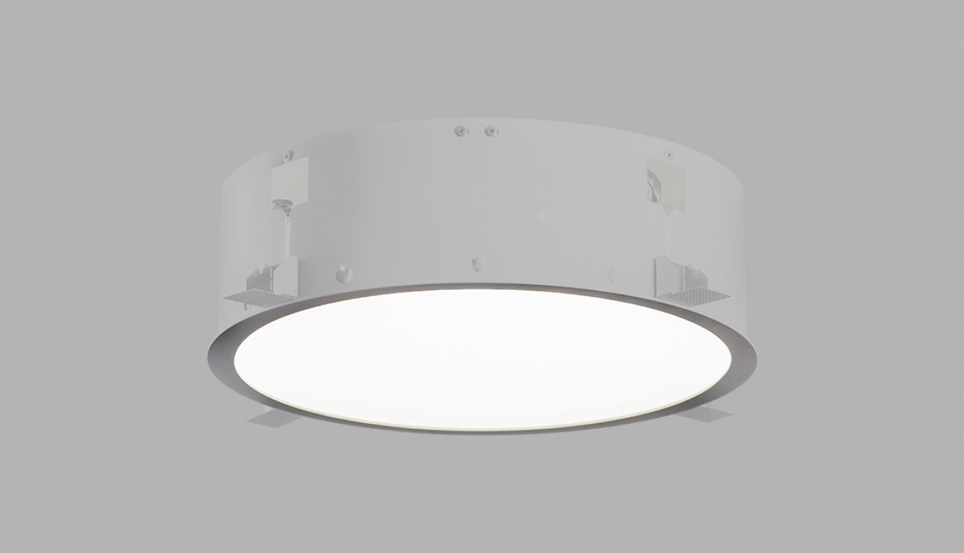 Puri halla as professional lighting we were contemplating about how to achieve total design clarity and so the family of puri built in circular luminaires was built arubaitofo Choice Image