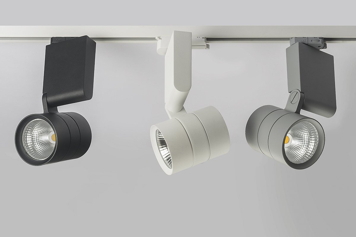how track lighting works. The LED Strip Luminaire Turns 360° And Tilts 90°. It Also Works With Varying Lighting Intensity. Thanks To This Flexibility, How Track