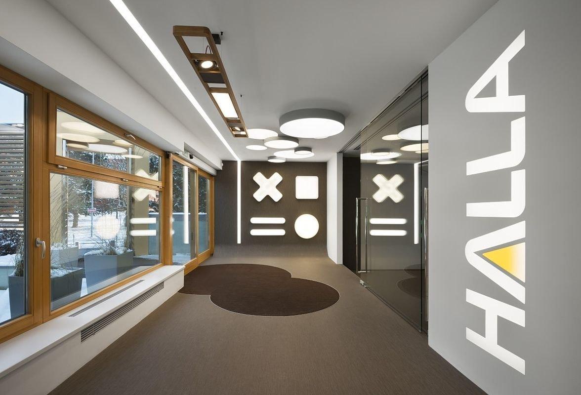 showroom headquarters halla halla a s professional lighting
